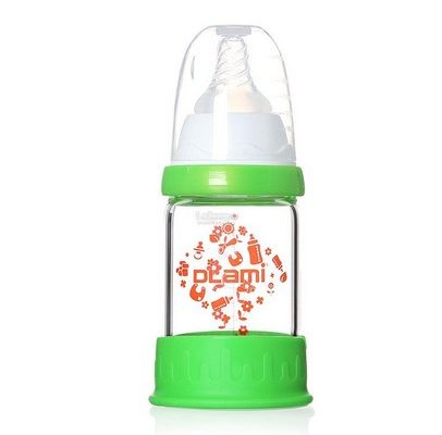 Dlami Anti-shatter Glass Baby Bottle