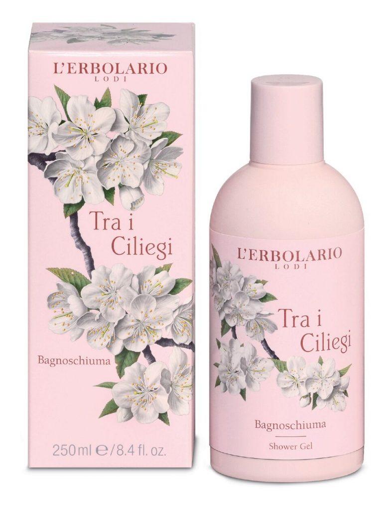L'erbolario Shower Gel with Cherry Blossom & Italian Cherry Extract