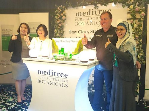 Meditree tea tree range launch