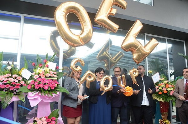 OEW group launches new building