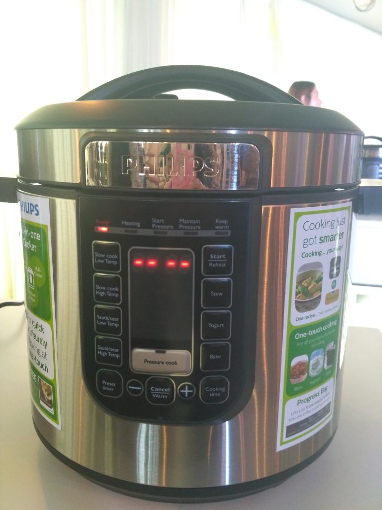 Cook 8 Times Faster with Philips All-in-One Pressure Cooker