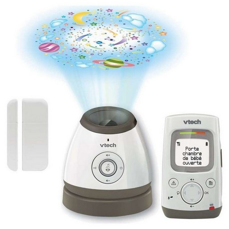 vtech-lightshow-security-bm-5000 Safe & Sound Digital Audio Monitor with VSmart Wire-Free Home Monitoring (BM5000) vtech