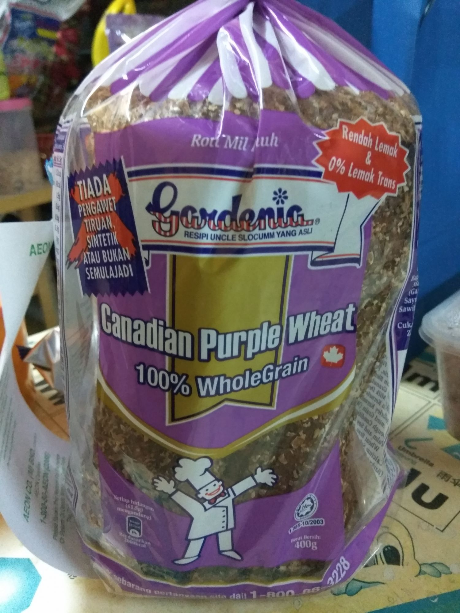 Gardenia 100 Wholegrain With Canadian Purple Wheat