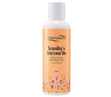 Cosmoderm Vanity's Favourite Perfumed Shower Gel
