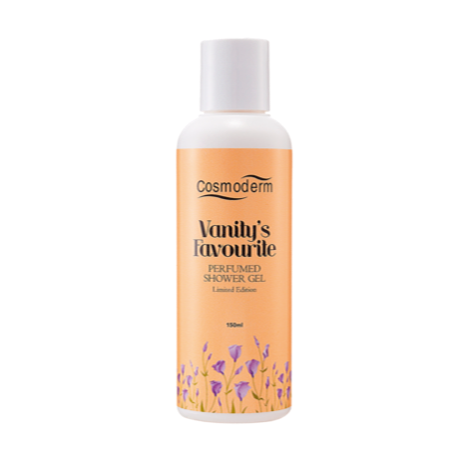 Cosmoderm Vanity's Favourite Perfumed Shower Gel