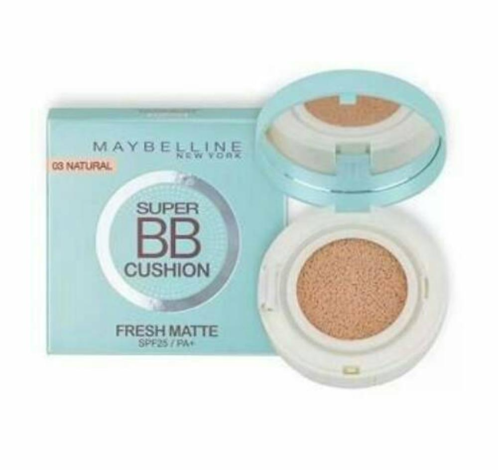 Maybelline Super Bb Cushion Fresh Matte 03 Natural Reviews Sand Beige Is My Favourite As This Code Suitable With Face Tone Colour Which Make More