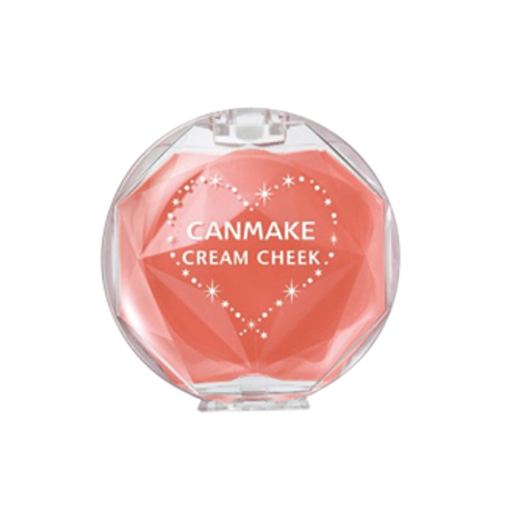 Canmake Cream Cheek 07 Coral Orange. 1 Photos