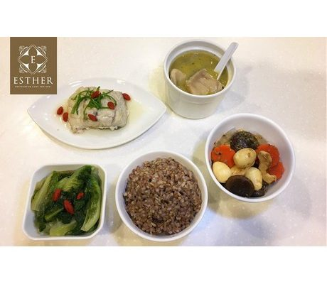 Esther Postpartum Care Authentic Taiwanese Confinement Meal