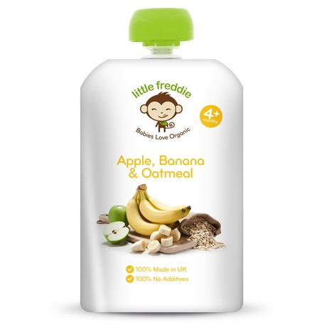 Little Freddie Apple, Banana & Oatmeal product
