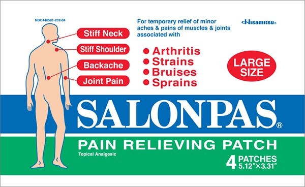 Salonpas arthritis pain relief patches review