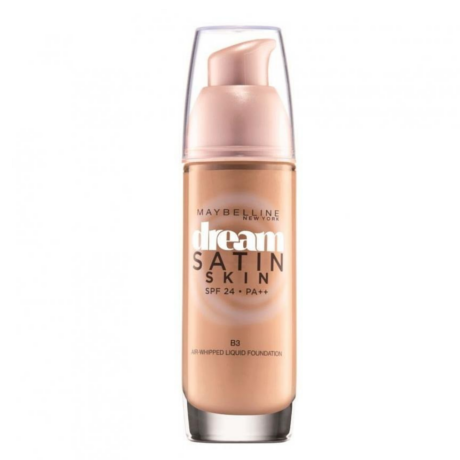 Maybelline Dream Satin Liquid Foundation Skin 01 Spf24
