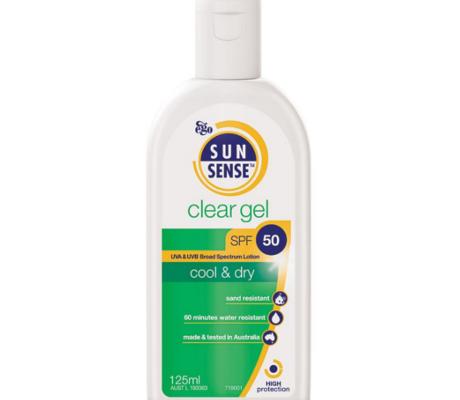 SunSense Clear Gel SPF50