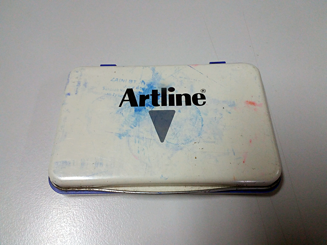 Artline Stamp Pad EHJ-4 - No 2 Blue