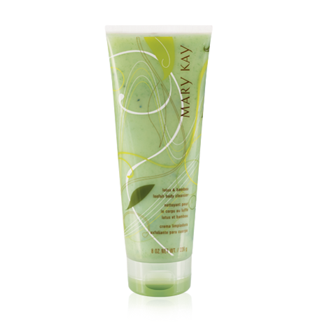 Mary Kay Lotus & Bamboo Loofah Body Cleanser