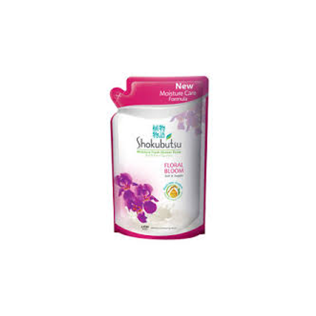 Shokubutsu Moisture Fresh Floral Bloom Shower Foam