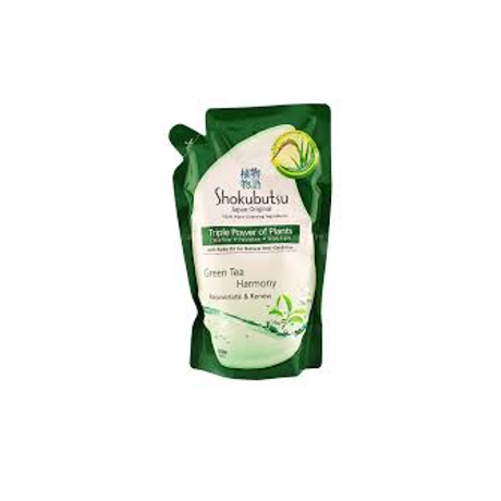 Shokubutsu Clean Fresh Green Tea Harmony Shower Foam