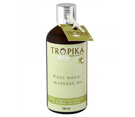 TROPIKA Mommy Spa Post Natal Massage Oil