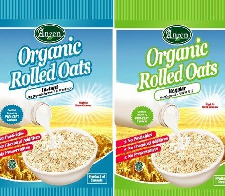 Anzen Organic Rolled Oats