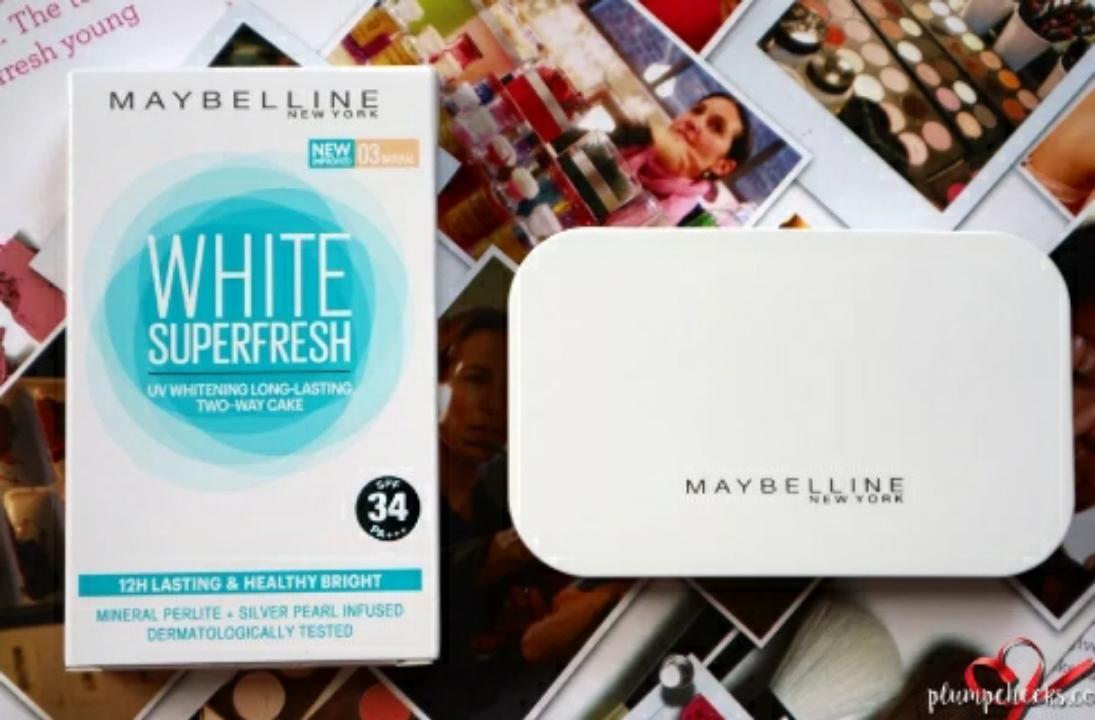 Maybelline White Superfresh Two Way Cake