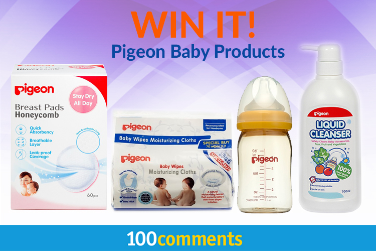 Pigeon Baby Care Products Contest