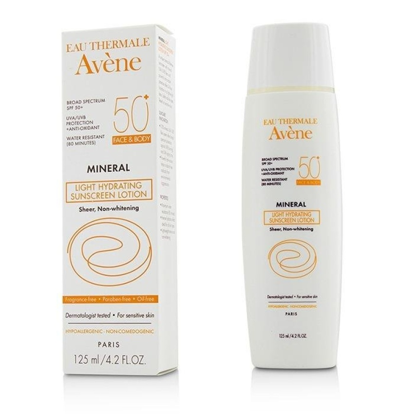 650d5792e53a Avene Mineral Light Hydrating Sunscreen Lotion SPF 50 For Face & Body  reviews