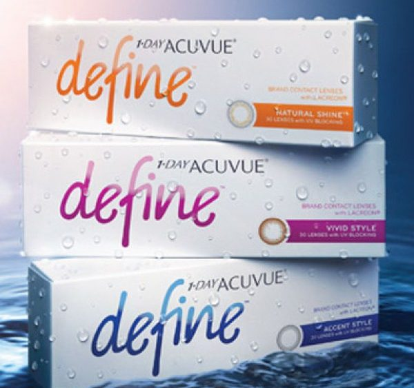 ACUVUE Define With Lacreon Technology