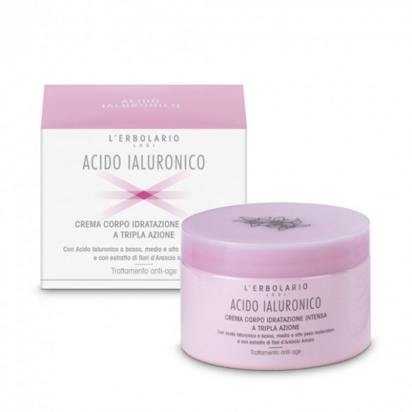 L'erbolario Body Cream Intense Triple Action Hydration