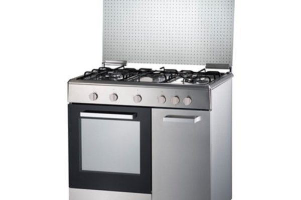 Elba Egcc9703g Ss 3 Burner Gas Cooker With 70l Oven Stainless Steel