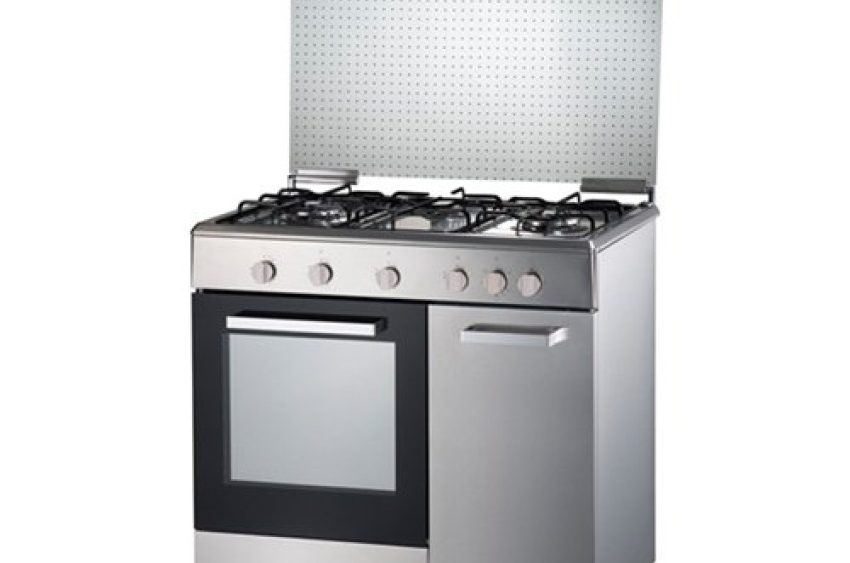 3 Burner Gas Cooker With 70l Oven