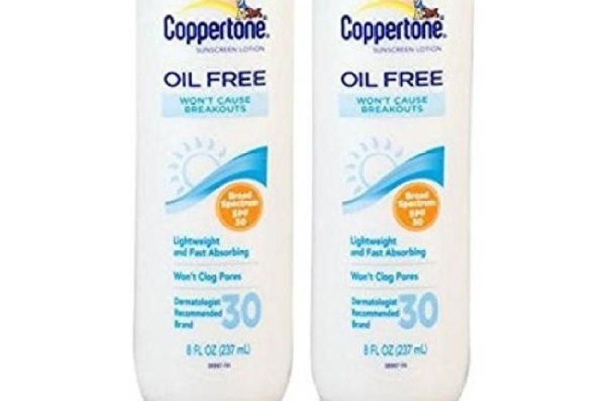 Coppertone Oil Free Sunscreen Lotion SPF 30