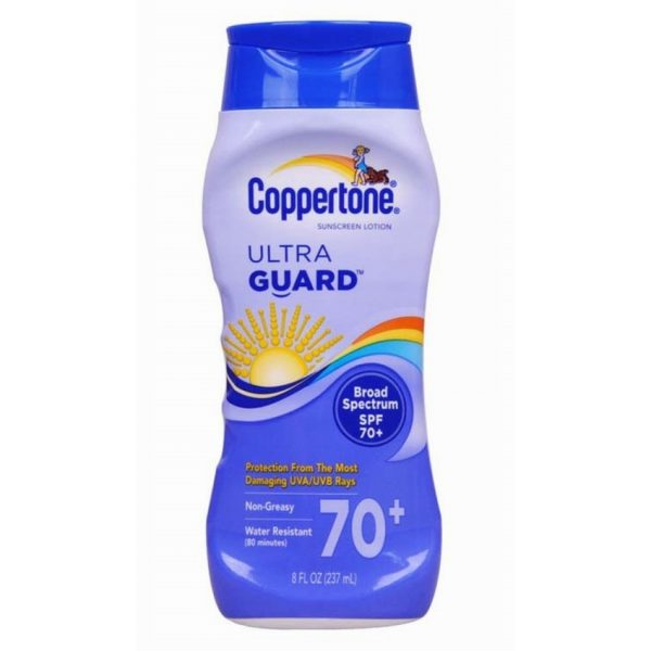 Coppertone Ultra Guard Sunscreen Lotion SPF 70