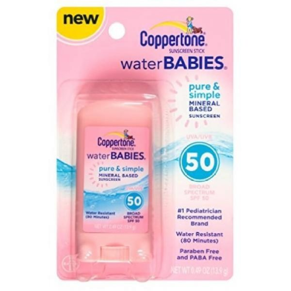 Coppertone Waterbabies Pure And Simple Mineral Based Stick