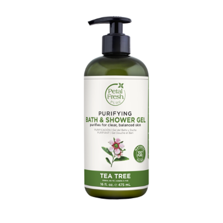 Petal Fresh Pure Invigorating Bath & Shower Gel Tea Tree