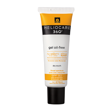 Heliocare 360 Oil Free Dry Touch Gel SPF50