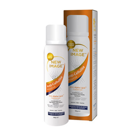 New Image Anti-Cellulite Mousse with Alpha Lipid Colostrum