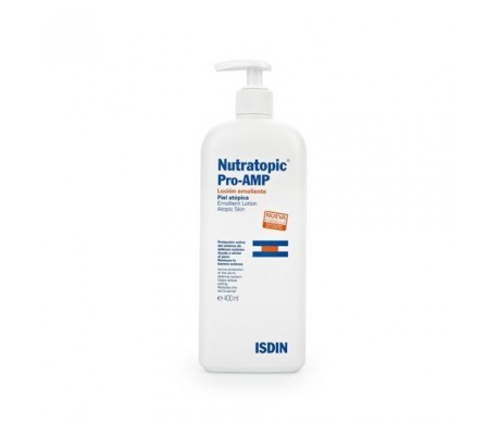 ISDIN Nutratopic Pro-AMP Emollient Lotion Atopic Skin
