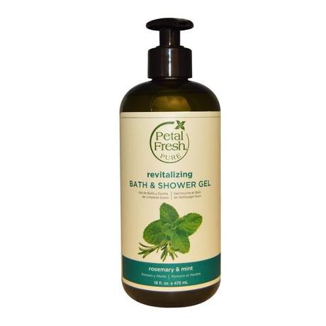 Petal Fresh Revitalizing Bath Shower Gel Rosemary & Mint