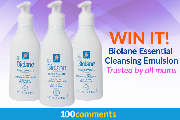 Biolane Essential Cleansing Emulsion Contest