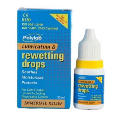 Polylab Lubricating & Rewetting Drops