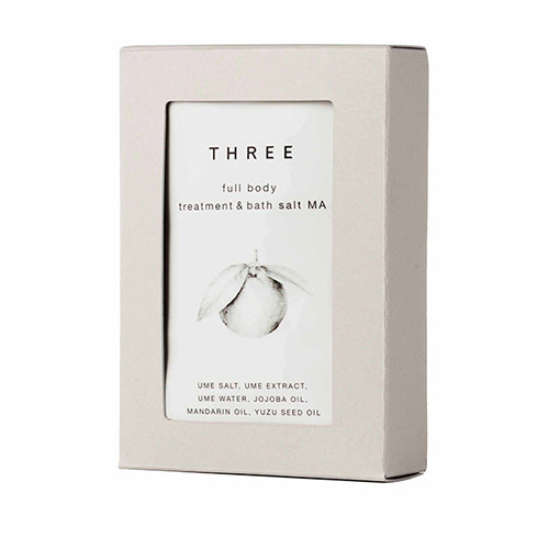THREE Body Treatment & Bath Salt Mandarin