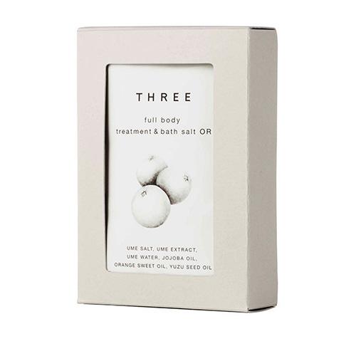 THREE Full Body Treatment & Bath Salt Orange