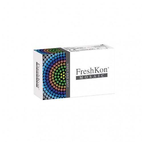 FreshKon Mosaic Cosmetic Contact Lenses