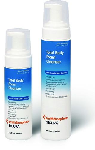 Smith & Nephew Secura Total Body Foam Cleanser