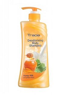 Jetaine Tracia Deodorising Body Wash Honey Milk