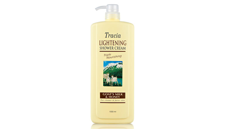 Jetaine Tracia Lightening Shower Cream Goat's Milk & Honey