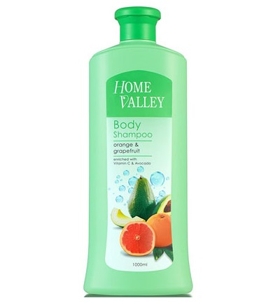 Jetaine Home Valley Body Shampoo Orange & Grapefruit