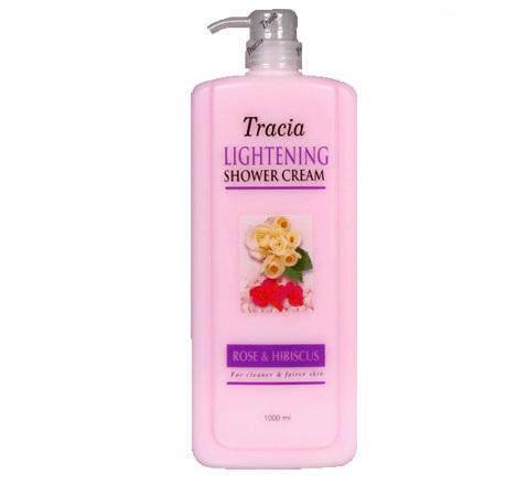 Jetaine Tracia Lightening Shower Cream Rose & Hibiscus