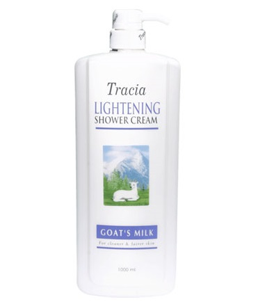 Jetaine Tracia Lightening Shower Cream Goat's Milk