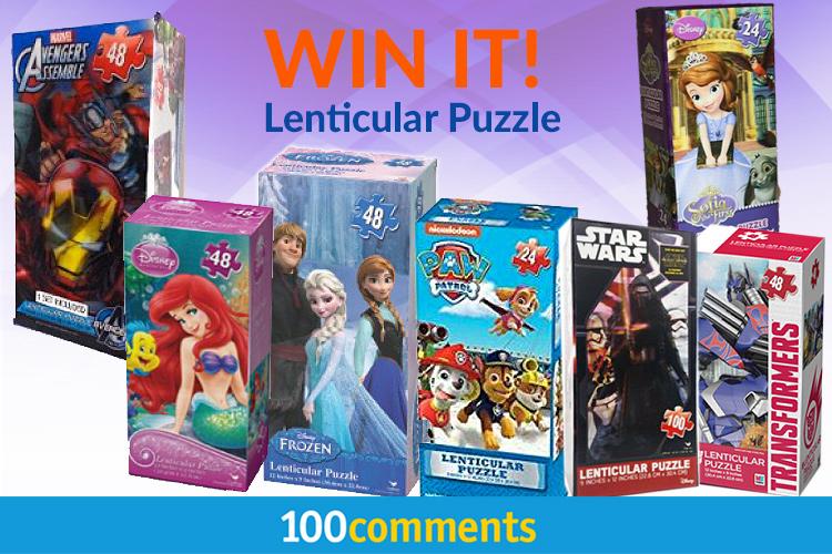Lenticular-Puzzle