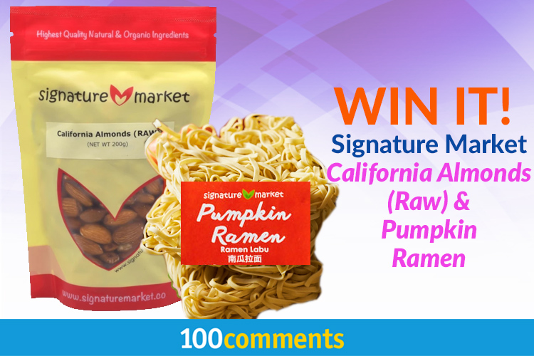 Signature Market California Almond (Raw) and Natural Pumpkin Ramen Contest